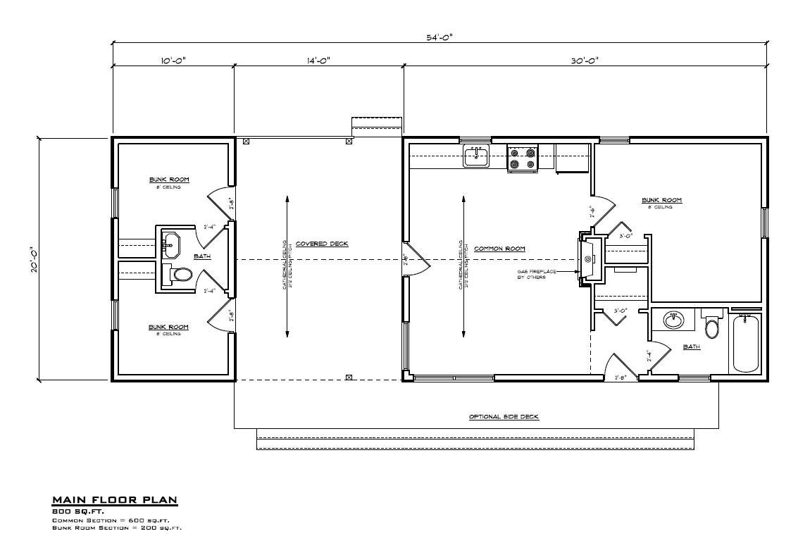 Main floor plan RTM Home Hardware North Battleford