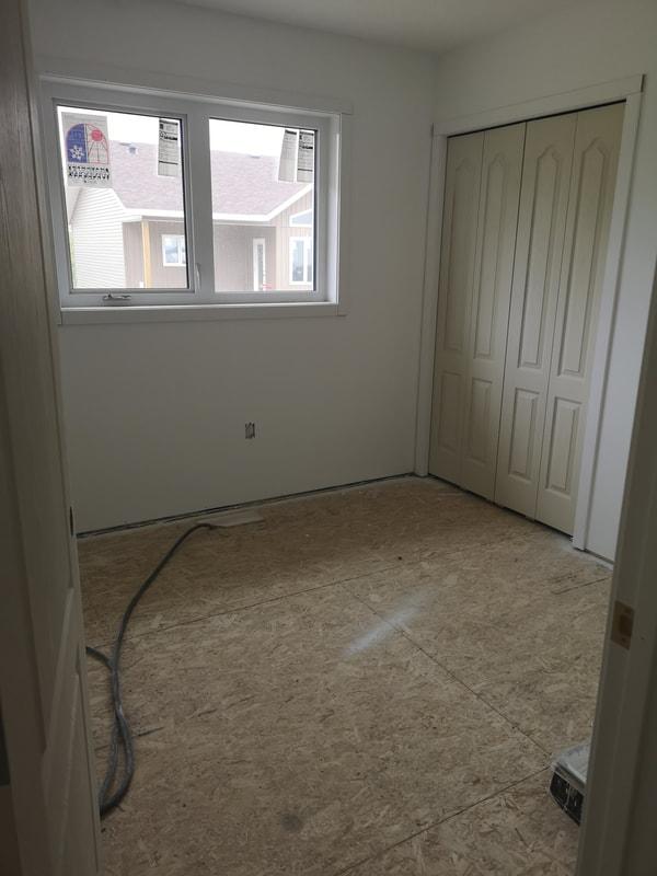 Unfinished bedroom RTM