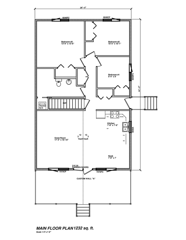 Floor plan drawing RTM