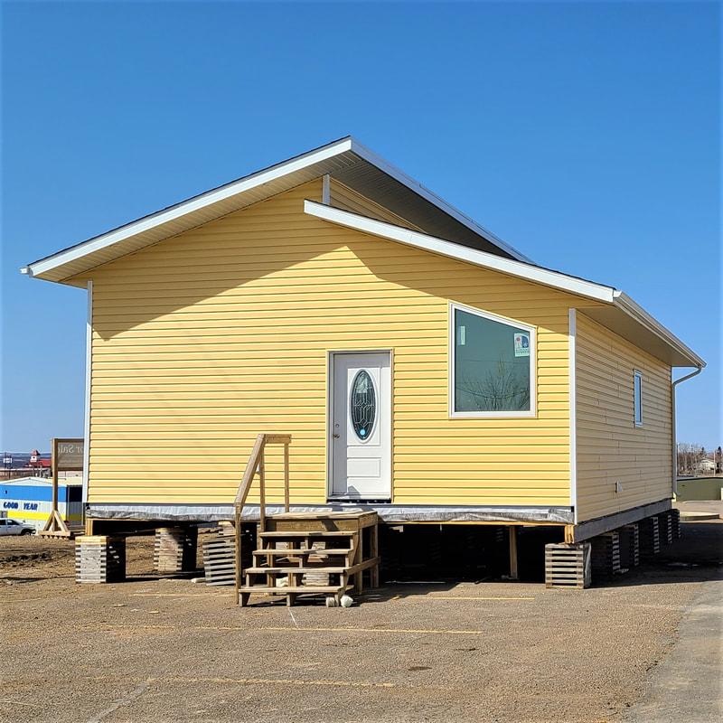 Yellow RTM build exterior shot