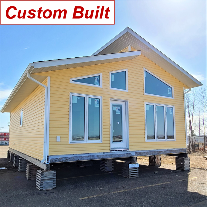 Yellow RTM cottage cabin