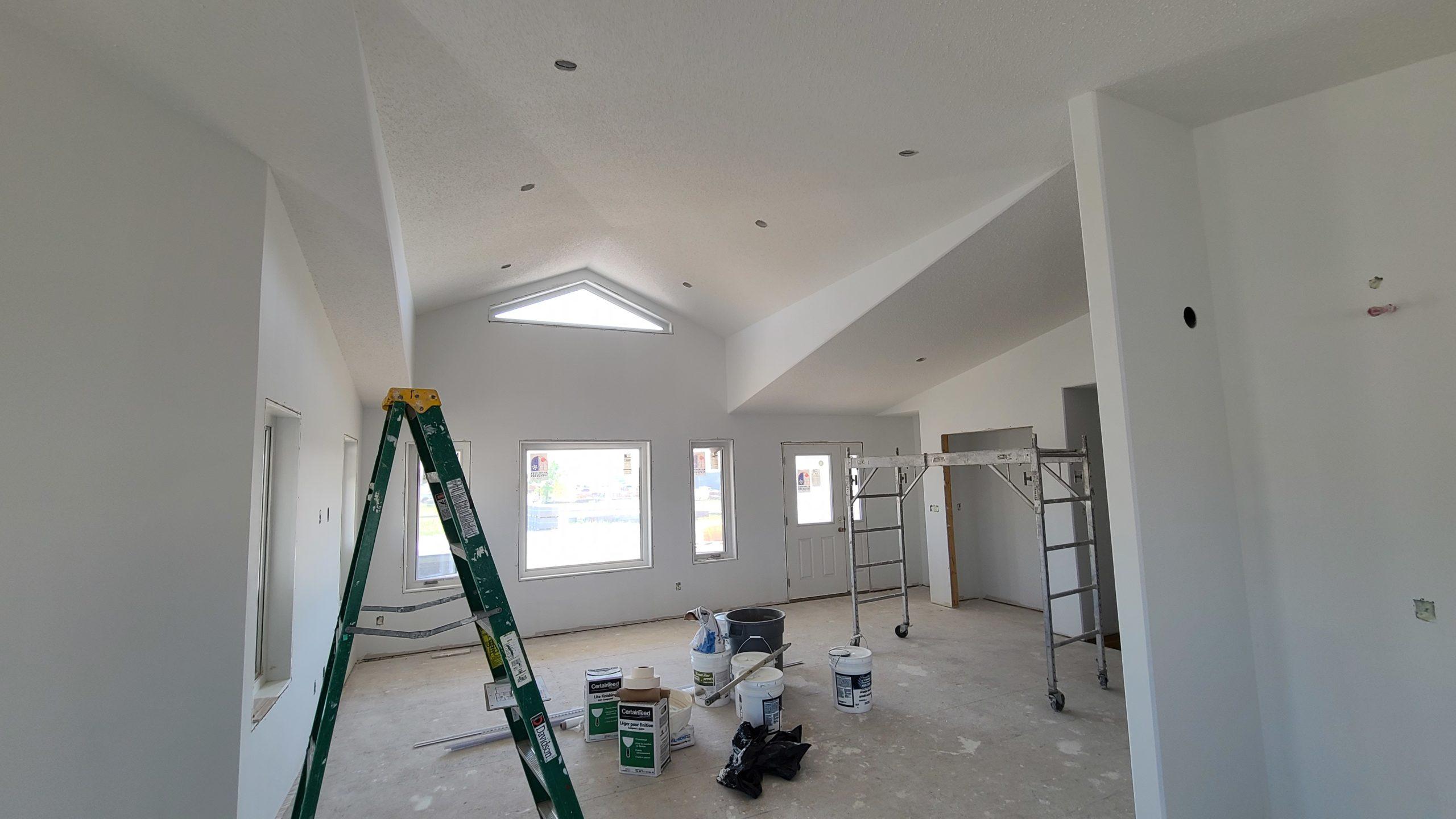 Front Entrance/Livingroom RTM under construction