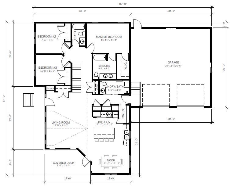 1771 Floor plan
