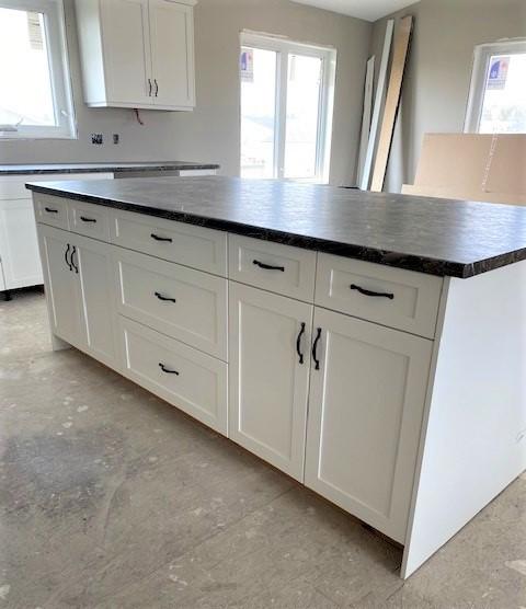 Kitchen cabinets & countertop - island - RTM under construction